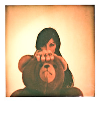 polaroid PX 680 Color Protection - Riae Mccarthy - teddybear