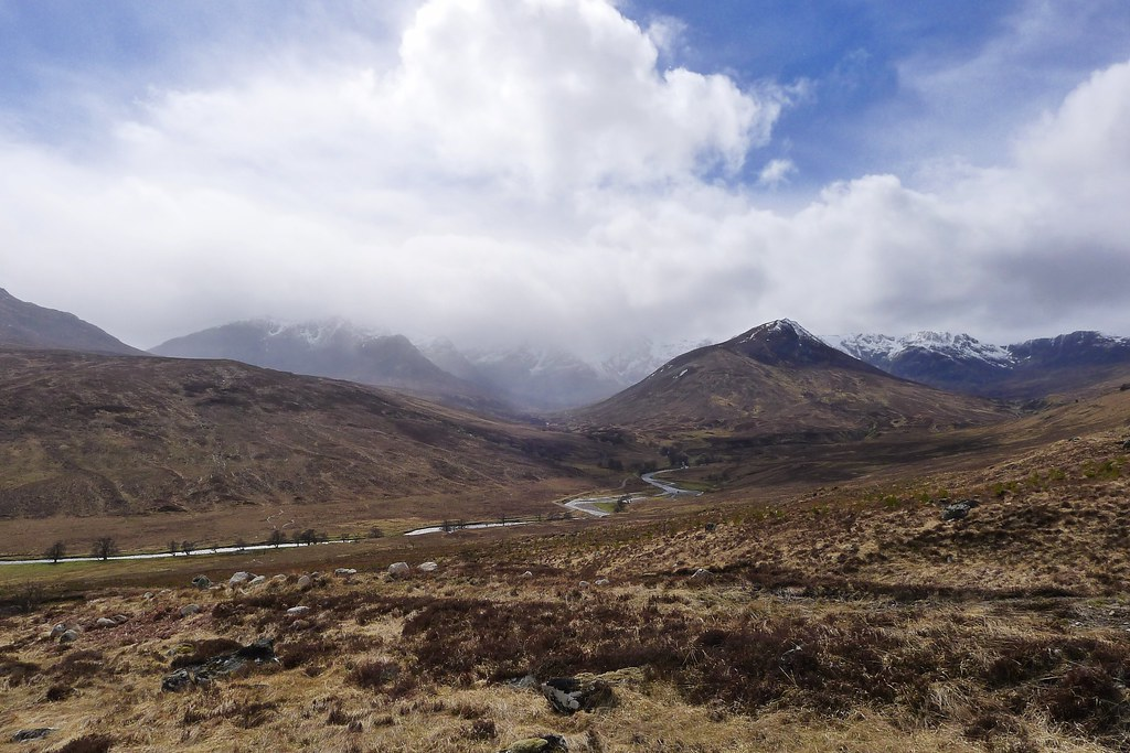 Descent to Coire Doe