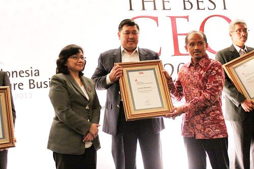 The Indonesia Future Business Leader 2013: Hendra Adisubrata.