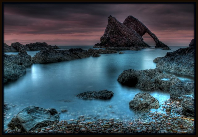 Bow Fiddle Rock. Portknockie.