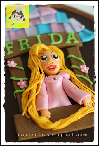 Rapunzel Cake for Frida
