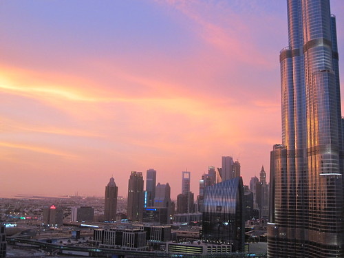Sky Over Dubai, June 5 Evening