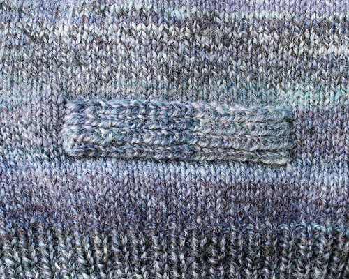 classic cardigan - pocket band