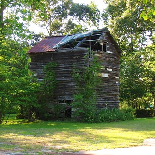 Tobacco Barn on Sand Hill Road