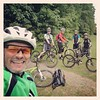 Nice sized group today meant singletrack heaven at stanmer #mtb