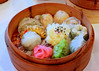 A rainbow of dim sum colors! by Dumplr