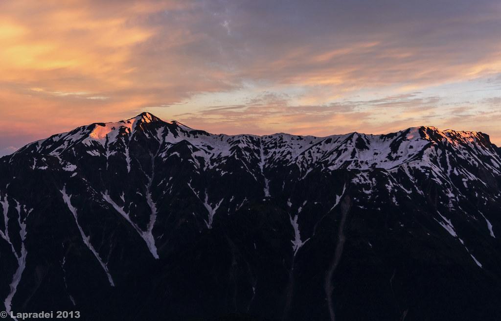 20130623 笠ヶ岳と弓折岳