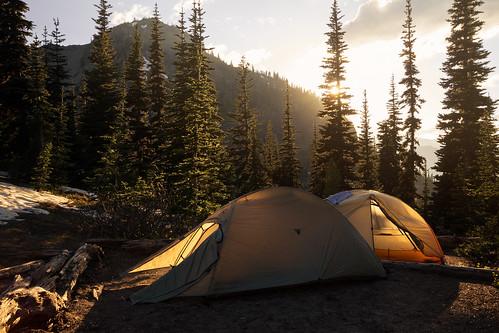 Bare campsite
