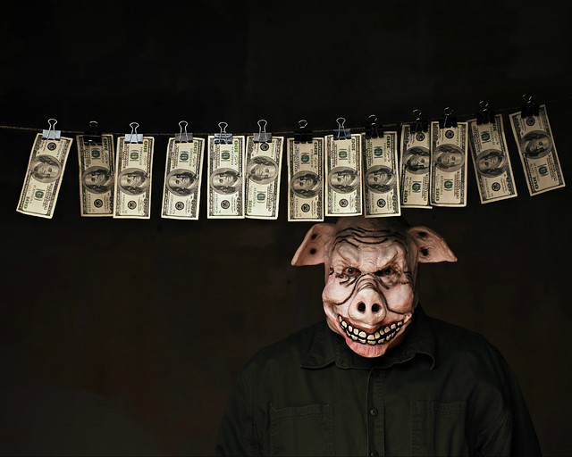 Porky's Money Laundering Service