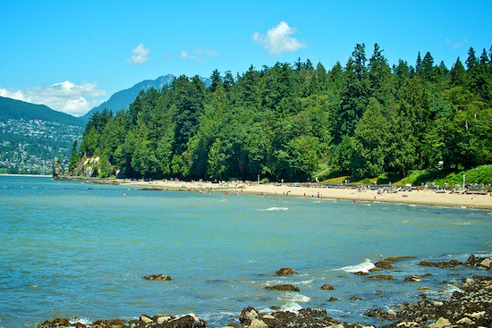 Stanley Park Beaches