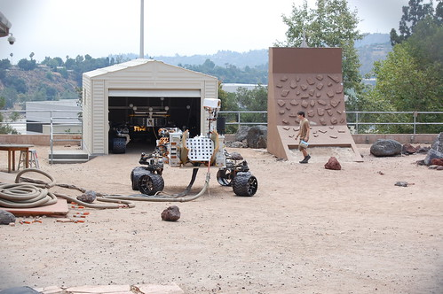 the spare Mars rover