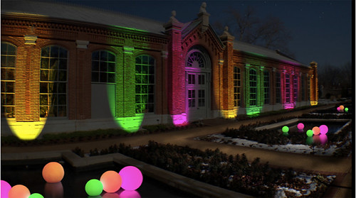 Garden Glow Concept Art: Glow Globes