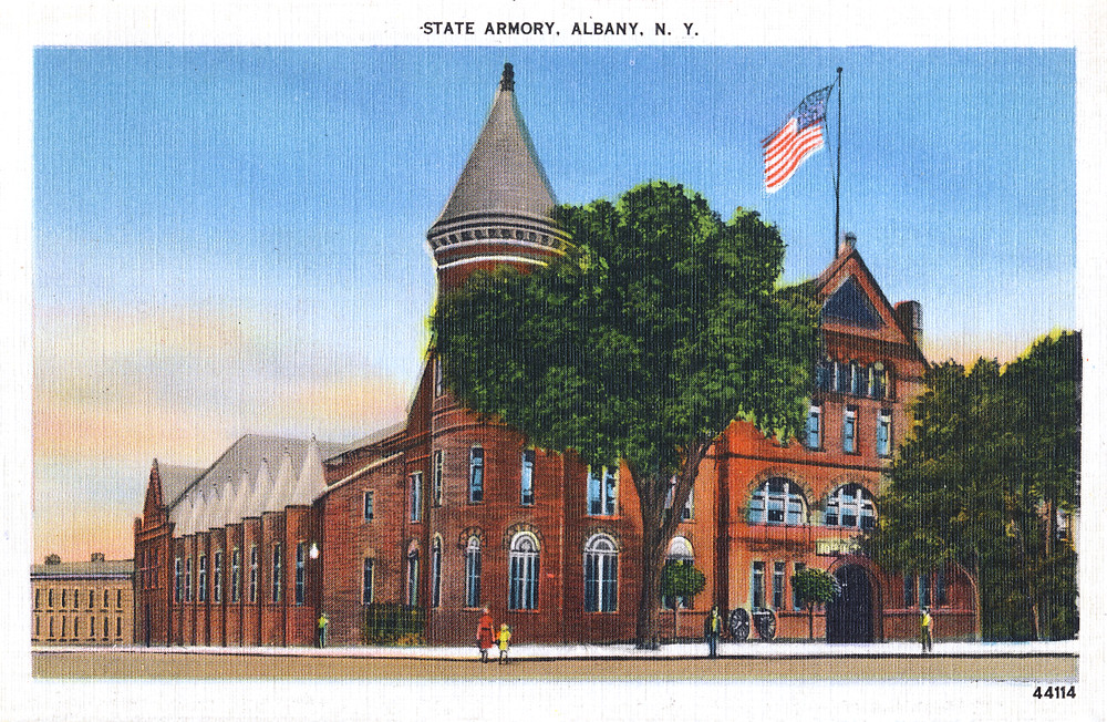 Washington ave armory albany ny early 1900s