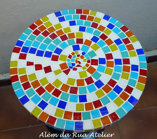 Tampo de mosaico super colorido!