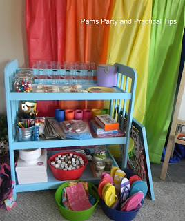 Changing Table To Party Table from Pam's Party and Practical Tips.