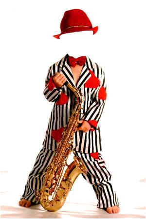 маленький саксофонист