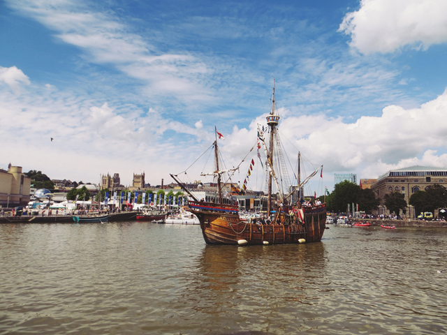 Bristol pirate ship