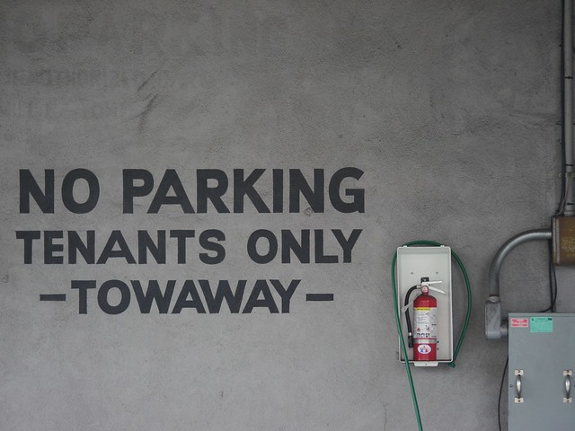 N is for No Parking