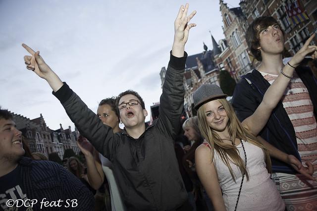 Marktrock Leuven 2013: Dag 1