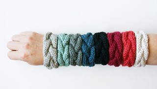 cabled bracelets for EVERYONE!
