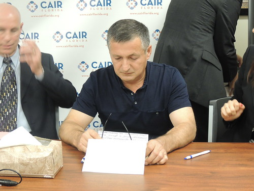 Ibragim Todashev's Father Speaks at CAIR-FL Press Conference