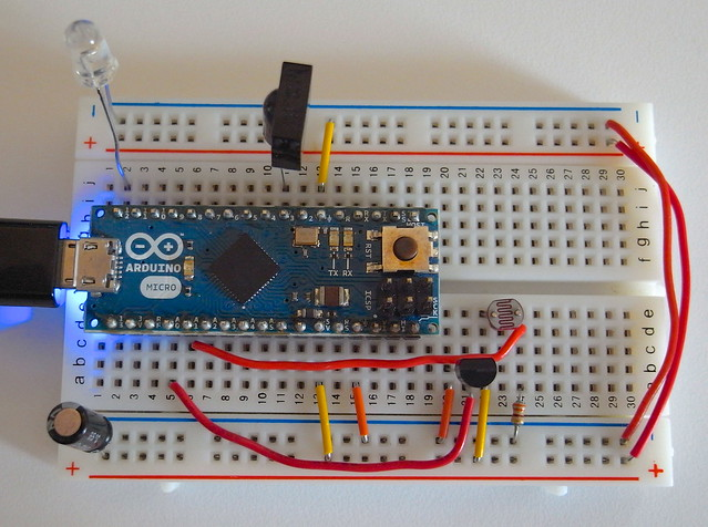 Arduino IR Remote with Temperature&Light Sensors