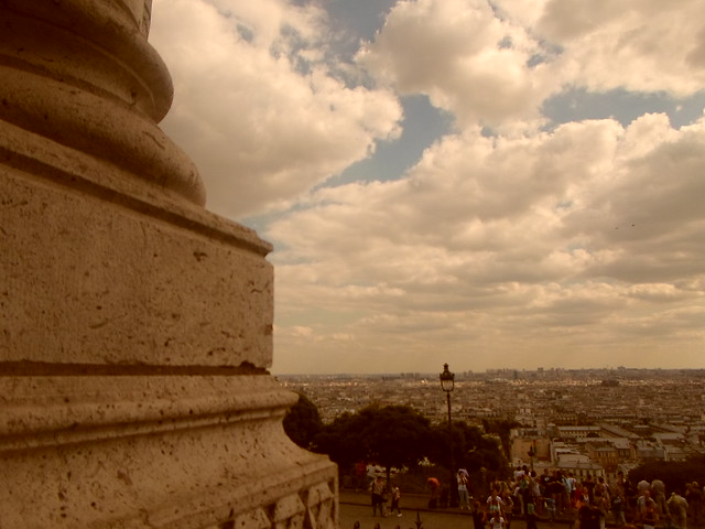 The view from Butte Montmartre