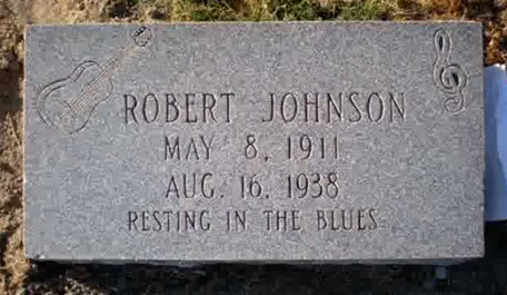 Robert Johnson Grave R.I.P. May 8, 1911 - August 16, 1938 by Doctor Noe