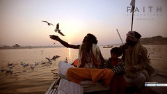 At Kumbh Mela - A single parent who is also a sage and is also a master yogi.. the world is made up of wonderful people.