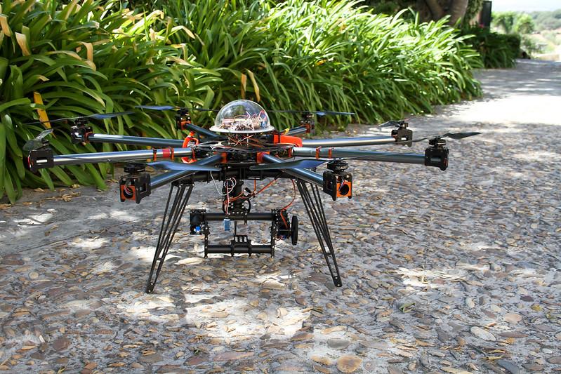 """Octocopter 1555 RTF con Ginbal 3 Axis """"Estilo Cinestar"""""""