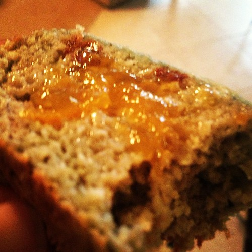 Adapted @runeatrepeat's cranberry protein bread! It's really great! #bread #eat #foodie #food #healthy #protein