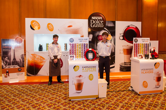 Nescafe Dolce Gusto and Milano Stand