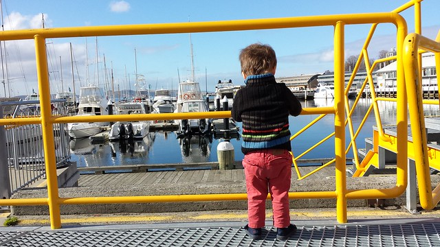 Eskil at Constitution Dock. BOAT!!!