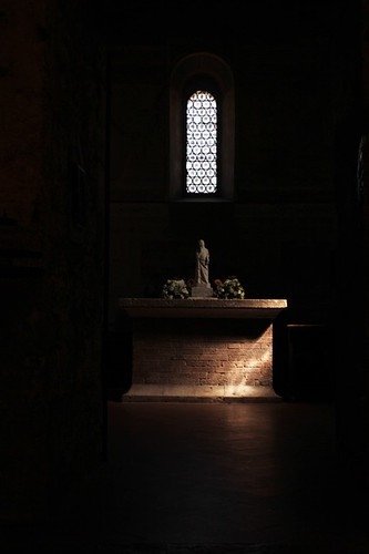 Cappella di Montesiepi: altare