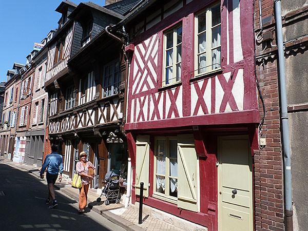 vieille rue Honfleur