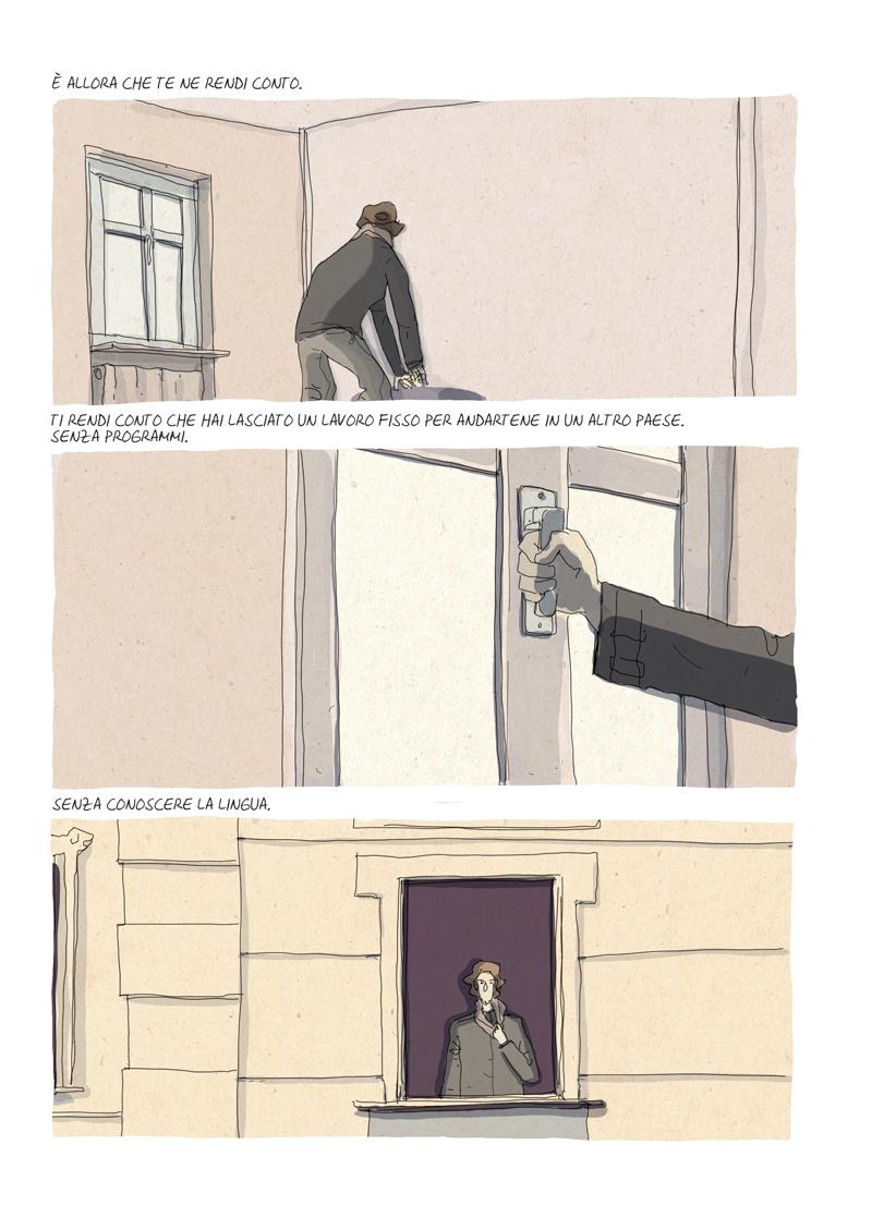 Alberto Madrigal Un lavoro vero Wohnung 2
