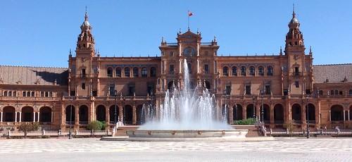 Plaza de España, Sevilla by Ginas Pics
