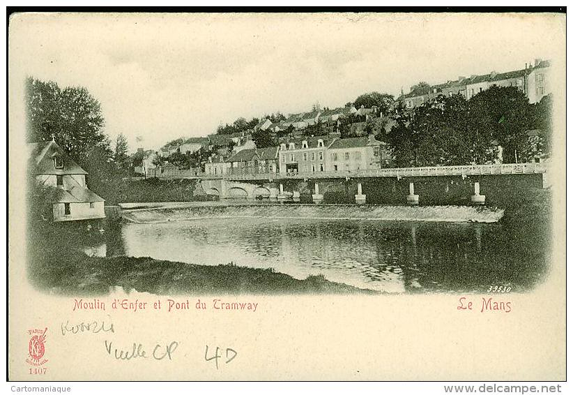 moulin d'enfer et pont de tram