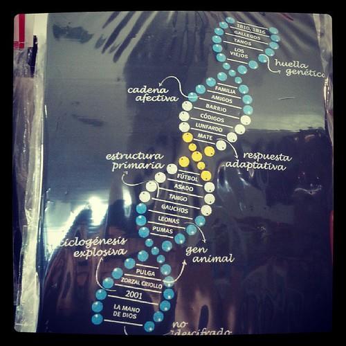 #DNA #ADN #arg #T-shirt #remera #genetic #genetica