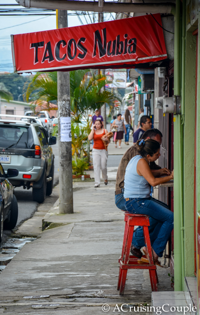 San Ramon Costa Rica Taco Shop