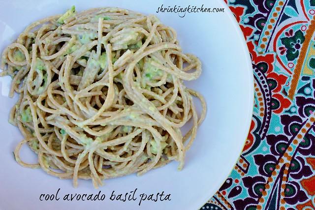 avocado basil pasta