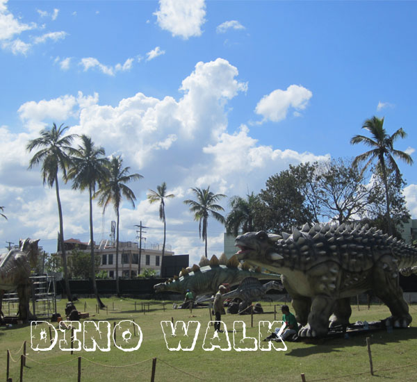 Interactive Dinosaur Prop
