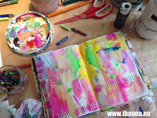 Art Journal Peek: Wishes