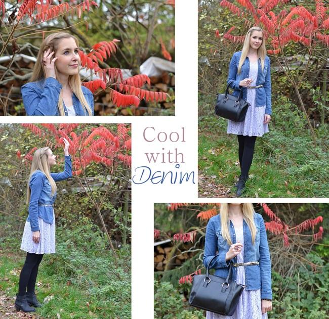 Sommerkleid im Herbst stylen Collage (b)