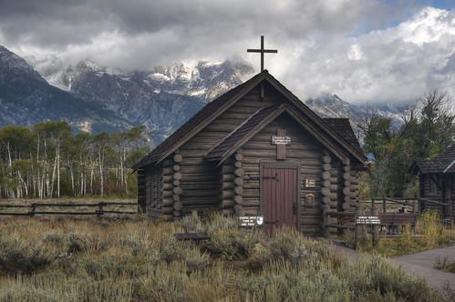 Chapel of the Transfiguration, Grand Teton National Park HDR