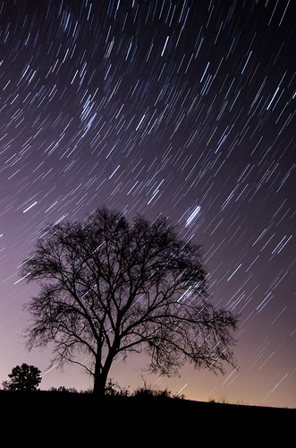 nature wisconsin night landscape madison startrails