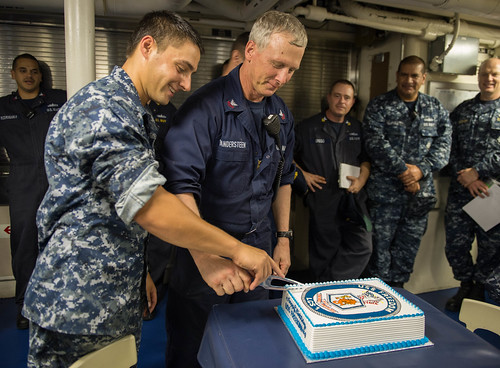 USS Freedom Celebrates 5th Birthday