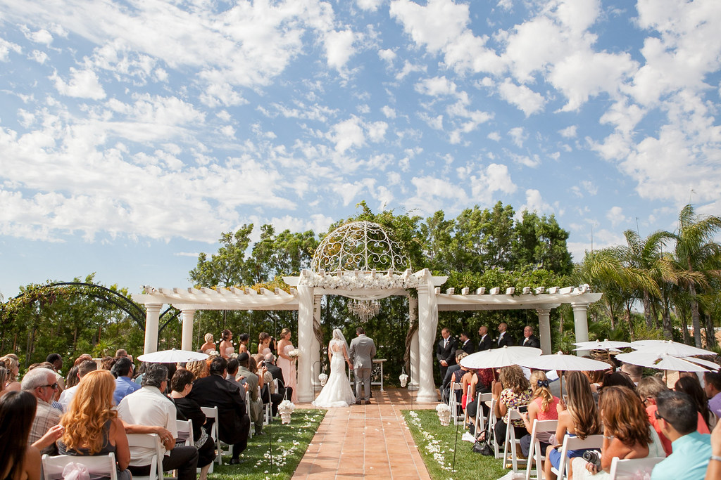 Outdoor Vineyard Wedding Photos at Villa de Amore Private Wedding Estate and VineyardVilla de ...