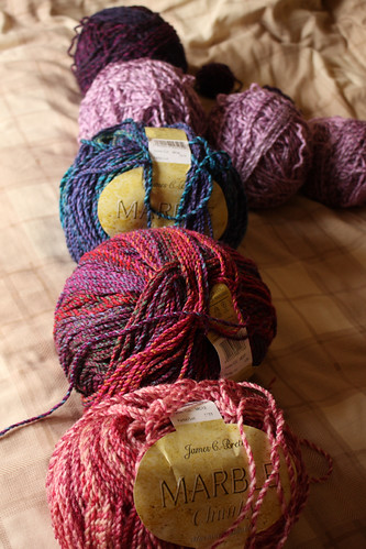 Yarn for my corner-to-corner blanket