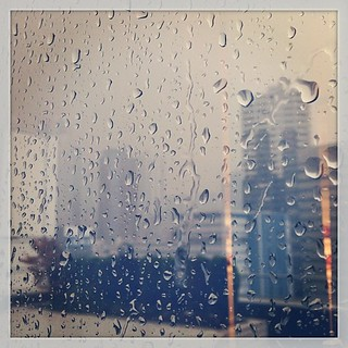 sudden #rain